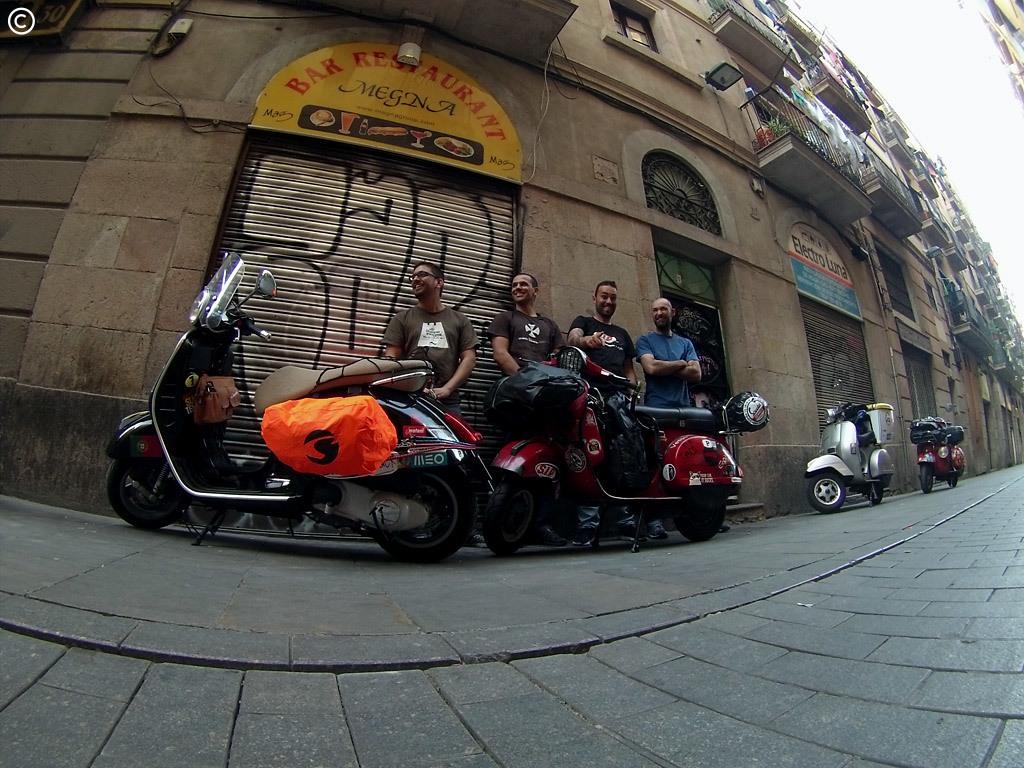 Barcelona, foto de grupo!